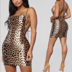 Print dress bodycon